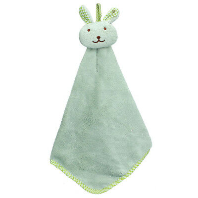 Kitchen Cartoon Animal Hanging Cloth Soft Plush Dishcloths Hand Towel
