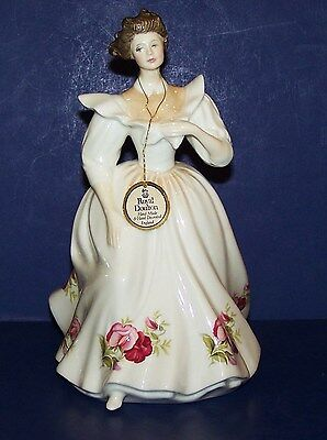 """Stunning Royal Doulton England Hn2708 April Figure Of The Month 8"""" Figurine"""