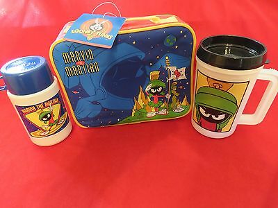 Marvin The Martian   Lunch Box + Thermos And Mug   Warner Bros. Looney Tunes