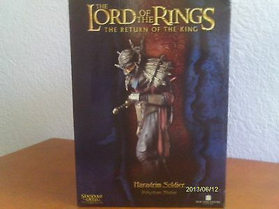 Lord Of The Rings Haradrim Soldier Statue Return Of The King ! Sideshow Weta !