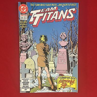 Team Titans 006 #6 Mar 1993 DC Comics