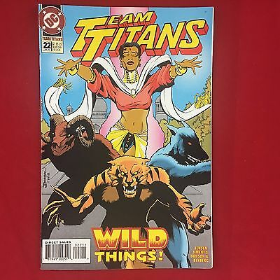 Team Titans 022 #22 Jul 1994 DC Comics