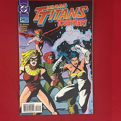 Team Titans 021 #21 Jun 1994 DC Comics