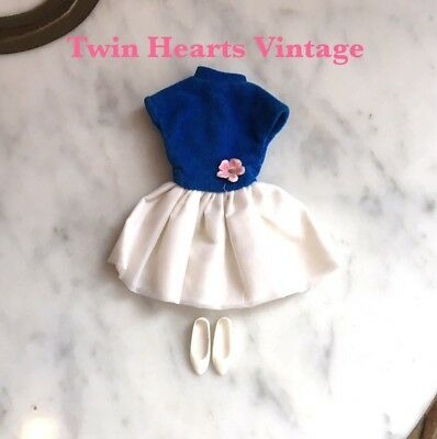 Vintage 60s Cricket Doll Outfit Party Pretty Tressy American Character