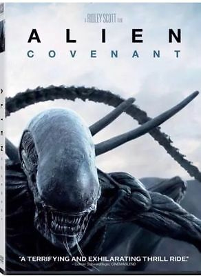 Alien: Covenant (DVD 2017) Brand NEW, Horror, Thriller Sealed! FREE SHIPPING USA