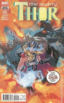 Mighty Thor (2015 2nd Series) #21A NM