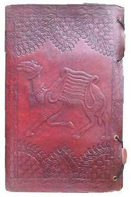 Handmade Leather Travel Diary Journal Stitched Travelers Notebook Hand Made