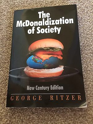 The McDonaldization of Society: New Century Edition by George Ritzer (Paperback…