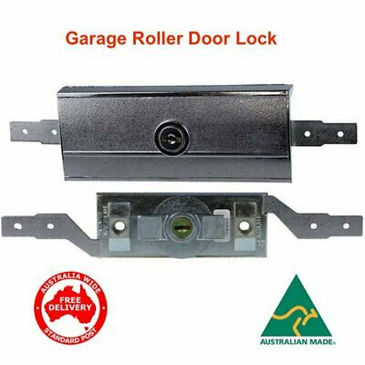 Replacement Garage Roller Door Lock With 2 Keys- for B&D, Gliderol-FREE POST