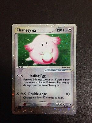 Pokemon Card - Chansey ex Ruby And Sapphire 96/109 Mint