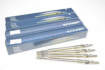 Peugeot 407, 607 2.7 HDi Models - Set of Four Diesel Engine Glow plugs