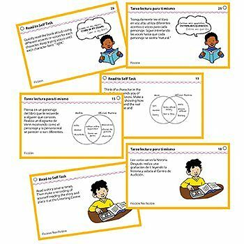 Read To Self Center Task Cards Gr 2 And Up
