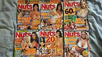 Nuts Magazine Bundle (12 Issues)