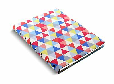 Filofax Notebook Patterns A5 Geometric Notizbuch Spiralbindung Kunstleder 115047