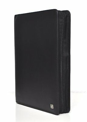 Time/system Klassik A5 Schwarz Ringbuch + RV Business 35mm Organiser Leder 48468
