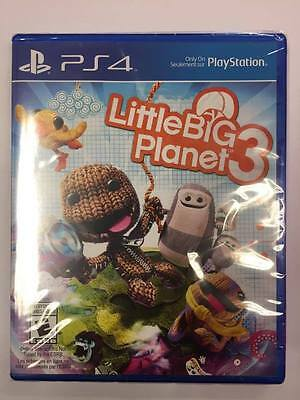 Little Big Planet 3 (PlayStation 4 PS4) ***BRAND NEW FACTORY SEALED***