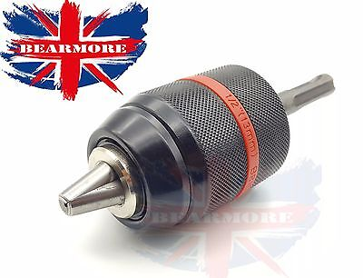 """Keyless Drill Chuck & Sds Adapter Replacement 4 Electric Drills 13Mm 1/2"""" 20 Unf"""