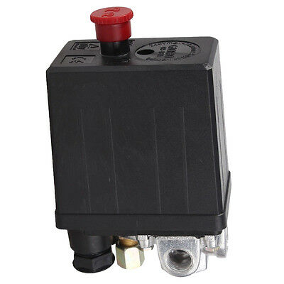 Heavy Duty Air Compressor Pressure Switch Control Valve 90 PSI -120 PSI D8C5