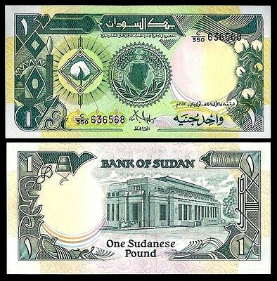 East Africa 1 POUND 1987 P 39 UNC