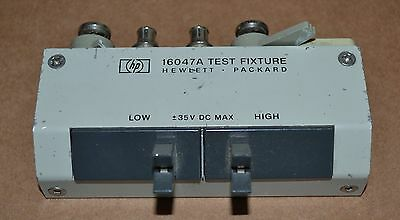 Agilent Keysight 16047A LCR Test Fixture for Axial Lead Components