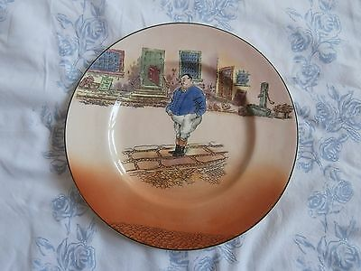 Royal Doulton Dickens  series ware  dinner  plate.  The  Fat Boy   D6327