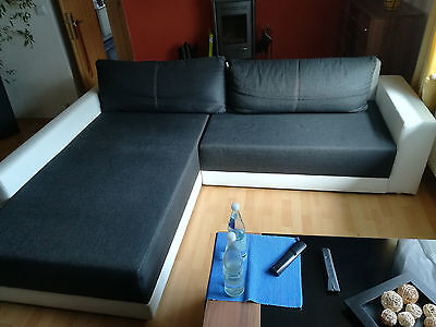 big sofa xxl hellgr n gebraucht eur 4 50 picclick de. Black Bedroom Furniture Sets. Home Design Ideas