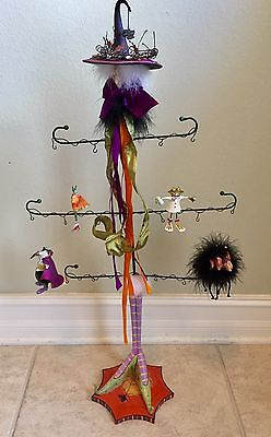 Krinkles Patience Brewster Halloween Witch for Mini Ornaments Display. Rare.