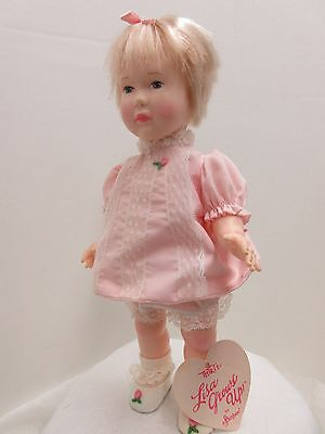 """EFFANBEE 11"""" DOLL- LISA GROWS UP - IN HER DRESS  Adorable"""