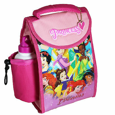 Disney TV Character 'Back to School' Lunch Cool Bag & Bottle - Princess