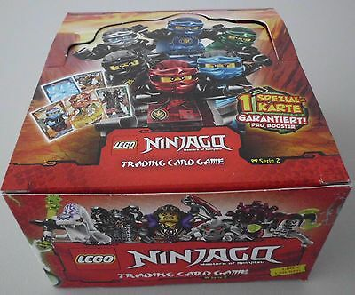 Lego Ninjago Serie 2 Trading Card Game 1 x Display 50 Booster