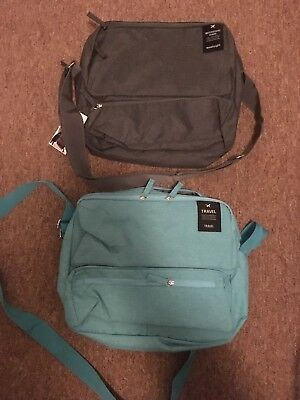Two Travel Airplane Bags For Tablet And Accessories