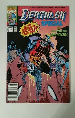 DEATHLOK SPECIAL #3 (of 4) Marvel 1991 Series. Origin Michael Collins as DL. NM