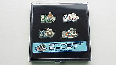 1995 Looney Tunes Street Sports Collector's Pins-Bugs-Wiley-Daffy-Taz VTG New
