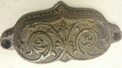 Vintage Brass cup pull drawer pull