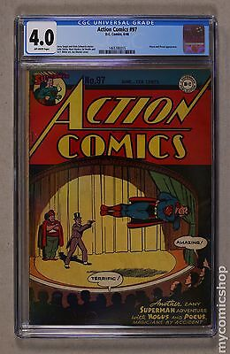 Action Comics (1938 DC) #97 CGC 4.0 1465786015