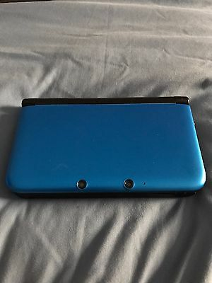 Nintendo 3DS XL (Latest Model) Blue/Black Handheld System - 3 Games Included