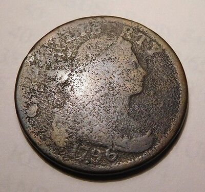 1796 Draped Bust Cent S-118 R-5+