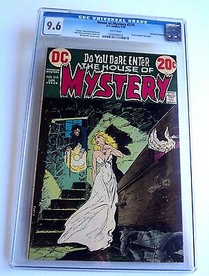 HOUSE OF MYSTERY # 210 CGC 9.6 NM+ White pages DC Bronze Horror Pedigree RARE