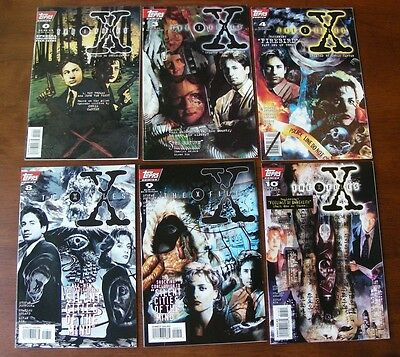 X-Files (Topps) Lot of 28, #0 3 4 8-11, 13-21, 23-32, Annuals 1 & 2, VF+ Comics