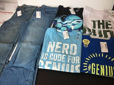 6 Piece Lot Of Boys  Clothes Size 5 5/6  New With Tags The Childrens Place
