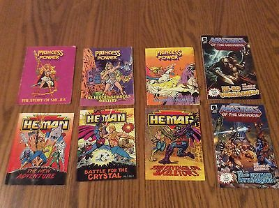 Masters Of The Universe Mini Comic Lot - 8 - She-Ra, New Adventures Of He-Man
