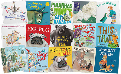 Great Australian Storybook Collection Set of 15 Books Courier Mail *NEW*