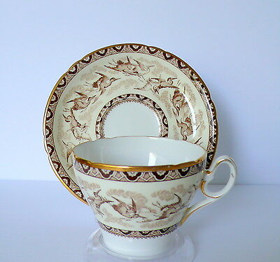 Rear Shelley Storks Birds Bone China Cup & Saucer Set