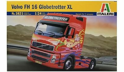 New Italeri Models 1:24 Volvo Globetrotter Xl Kit Plastic Scales Vehicle Game
