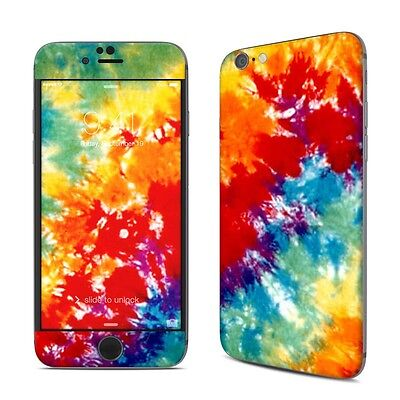 NEW Tie Dyed Rainbow Vinyl Decal Skin Kit Sticker Cover For iPhone Models
