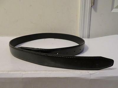 Womens Iceberg Black Leather W/out Buckle Size S