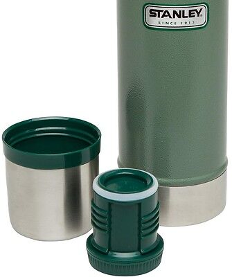 Classic 25 oz. Vacuum Bottle in Hammertone Green Sports 18/8 Stainless Steel New