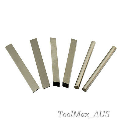 HSS Tool Bits 2pcs  ( Parting Off / Square / Round  2, 3, 4, 5, 6, 8, 10, 12mm )