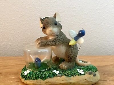 Charming Tails Catching Fireflies With Original Box