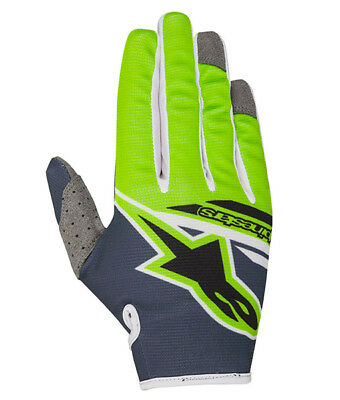 2018 Alpinestars Radar Flight Glove Green Flo
